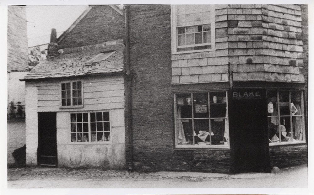 Blake's Shop - Now The Clipper Restaurant in Padstow